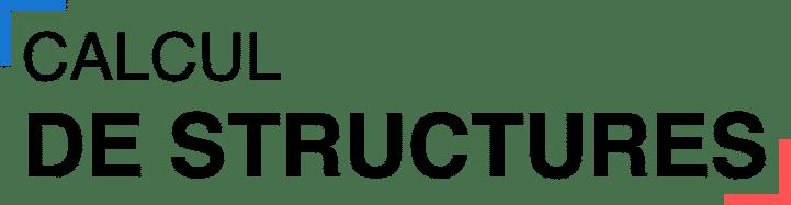 Calcul des structures